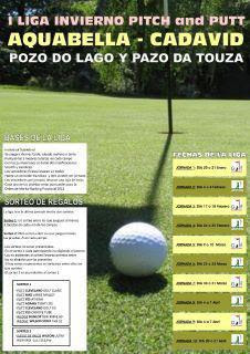 Liga Aquabella Pozo do Lago Pazo da Touza Pitch & Putt