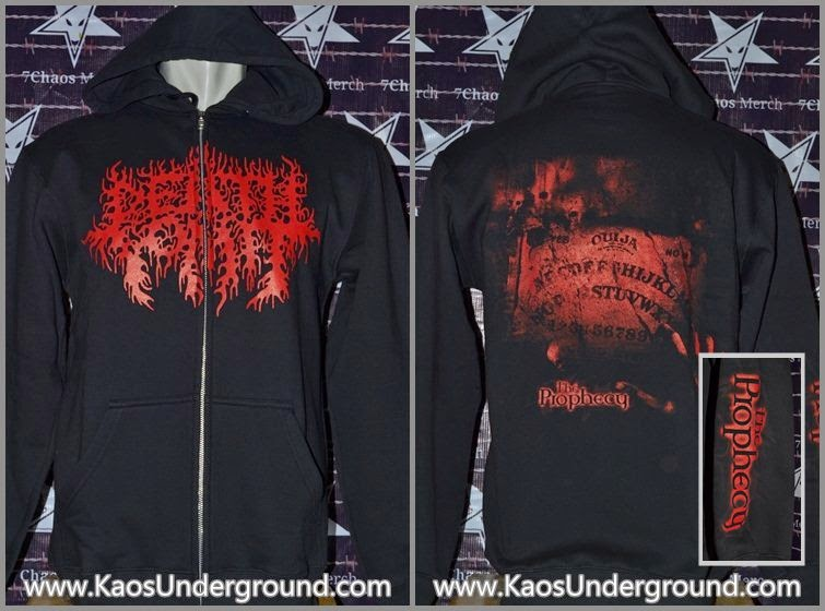 zipper death vomit band kaosunderground.com sevenchaosmerch merchon
