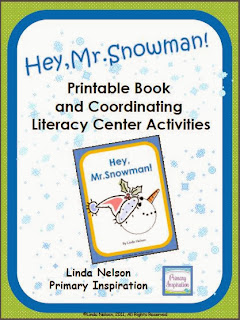 http://www.teacherspayteachers.com/Product/Hey-Mr-Snowman-Book-Coordinating-Literacy-Center-Activities-174962