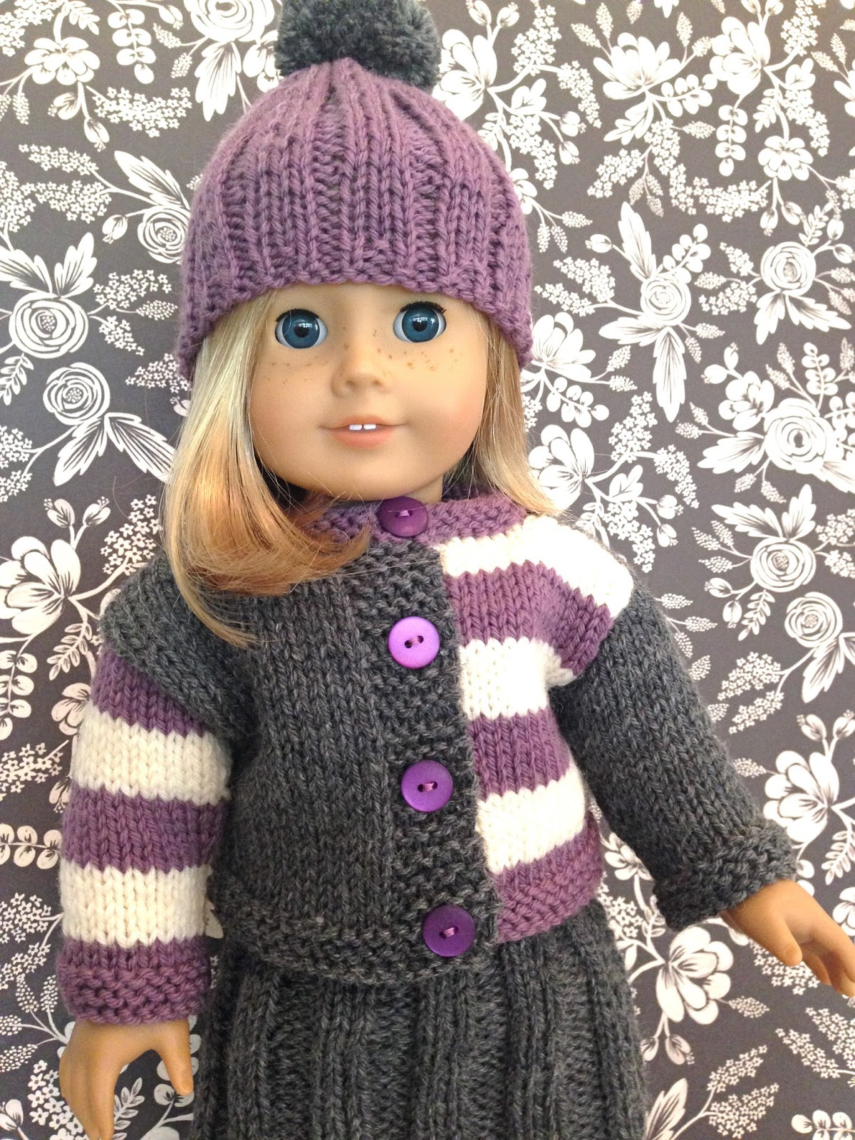 Famous American Girl Doll Knitting Patterns Free Crest - Blanket ...