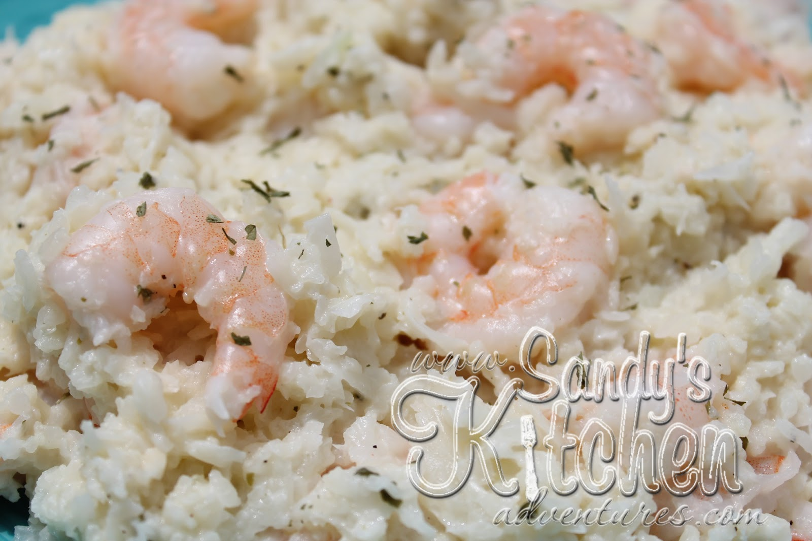 "Quick and Easy Mock Shrimp ""Risotto"" 