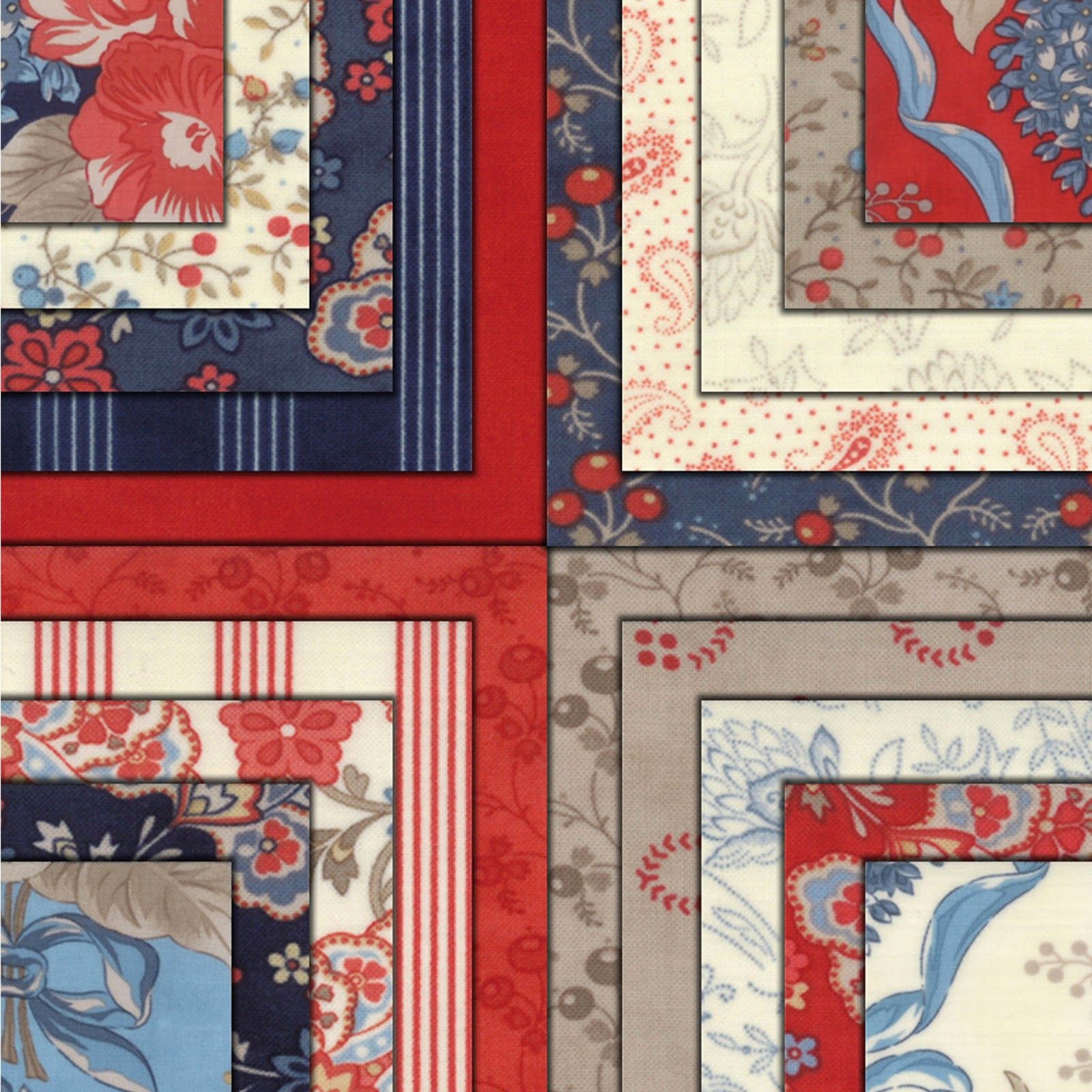 Moda GRANT PARK Quilt Fabric by Minick & Simpson for Moda Fabrics