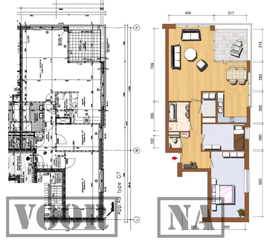 Studio omega blog woning plattegrond illustraties - Studio indeling ...