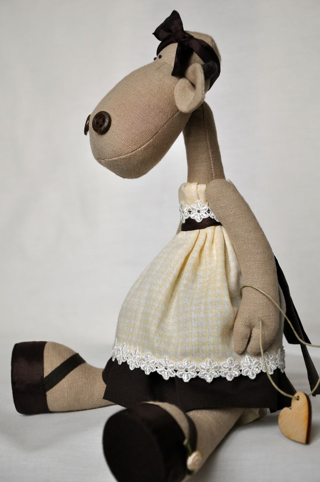 Коровка текстильная игрушка ручной работы