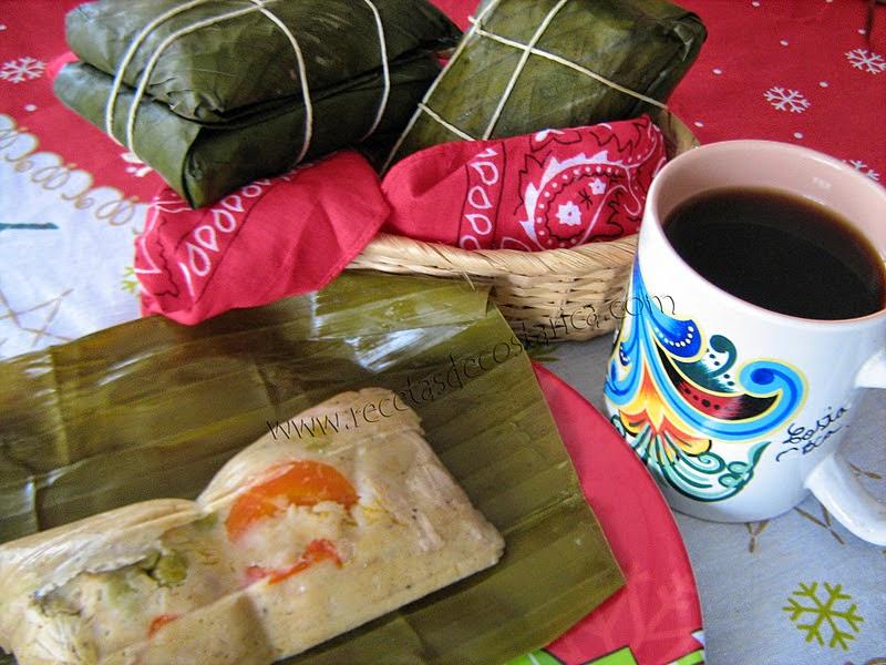 Cocina costarricense tamal tradicional for Coste cocina nueva