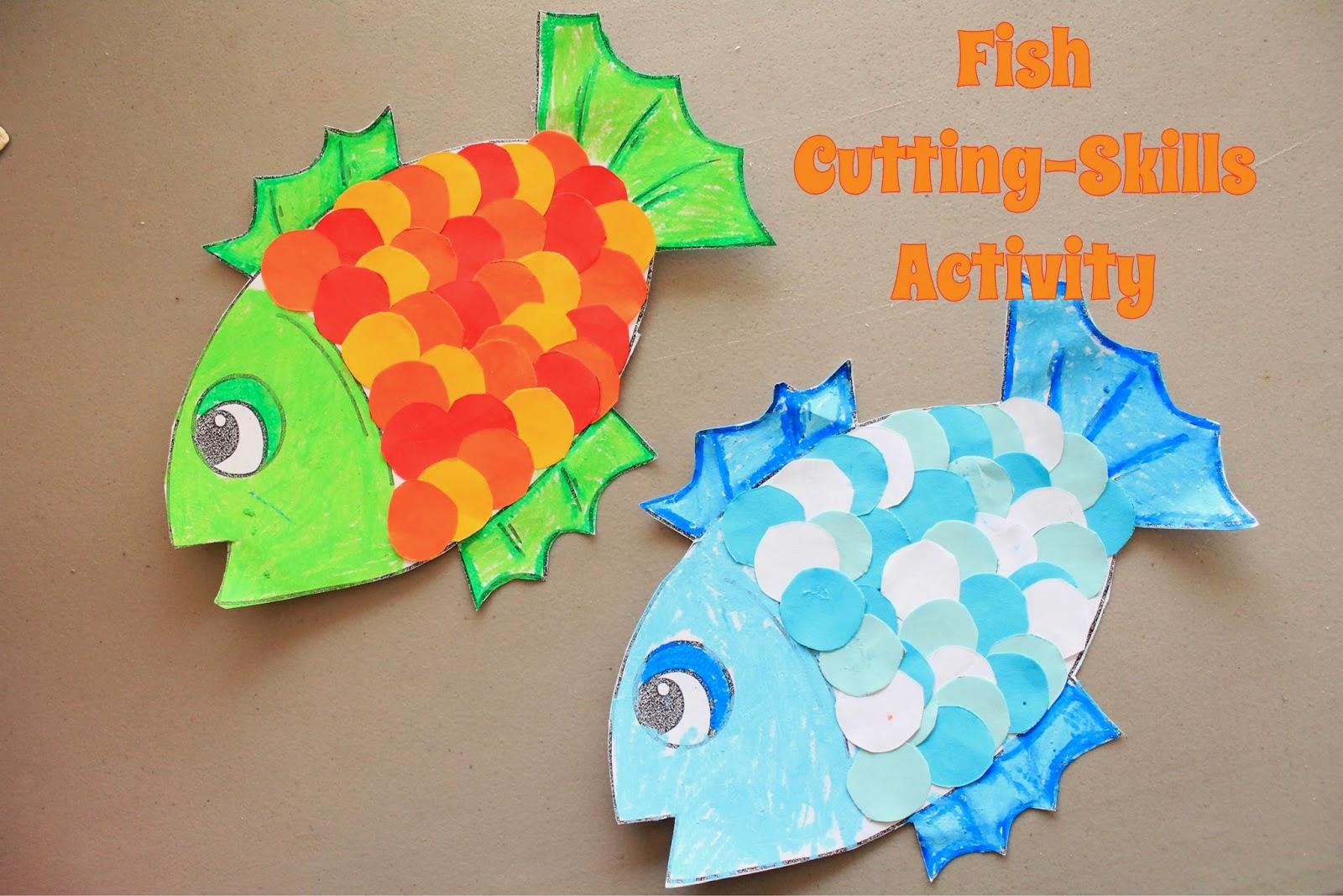 Рыба из цветной бумаги своими руками 25