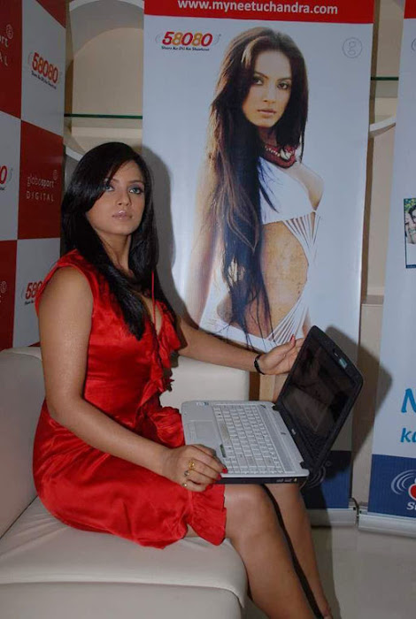 model neetu chandra shoot