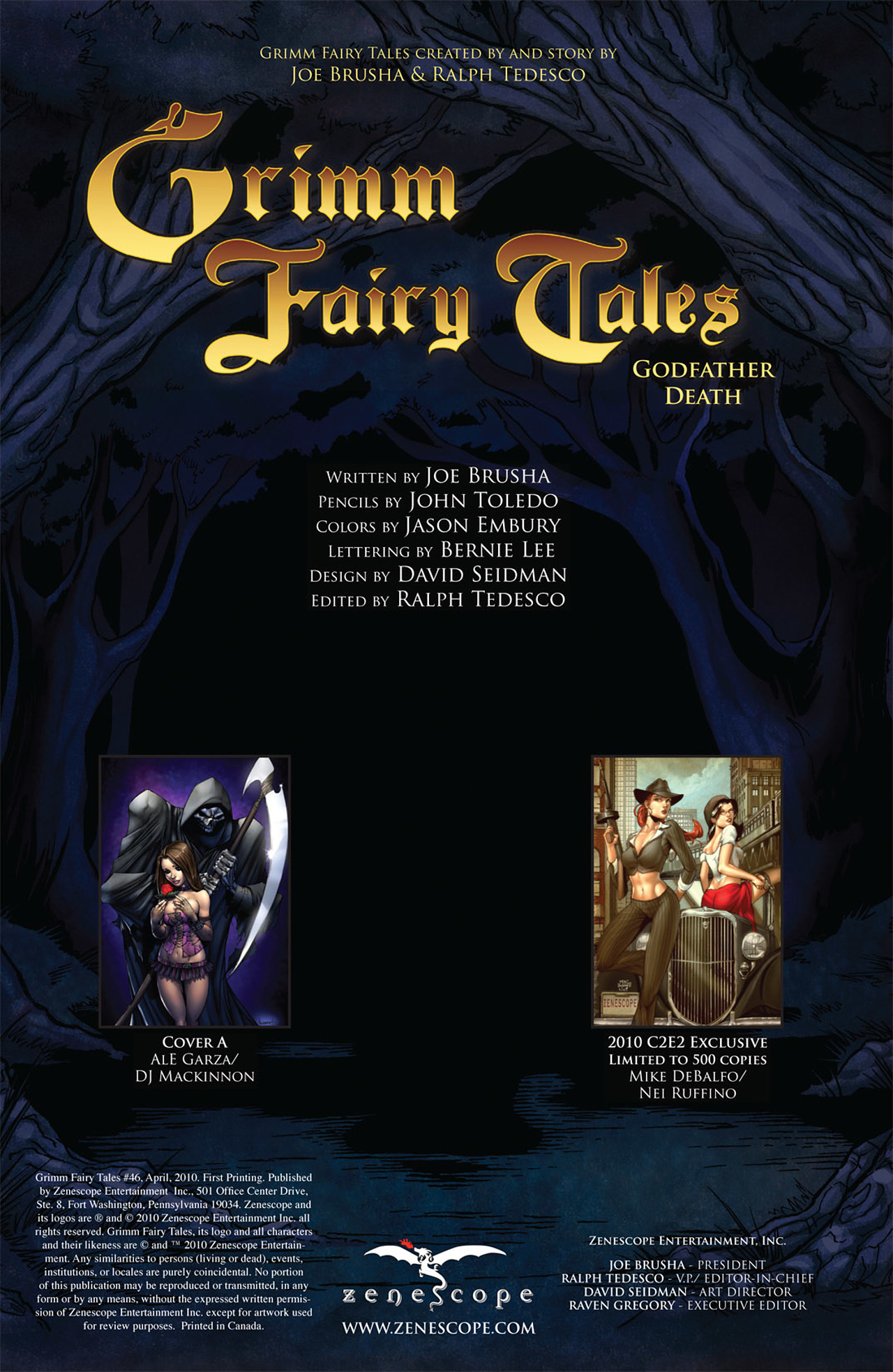 Grimm Fairy Tales (2005) Issue #46 #49 - English 2