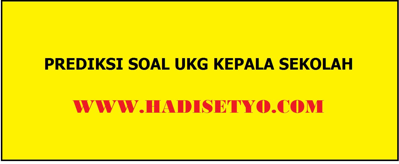 SOAL UKG 2012