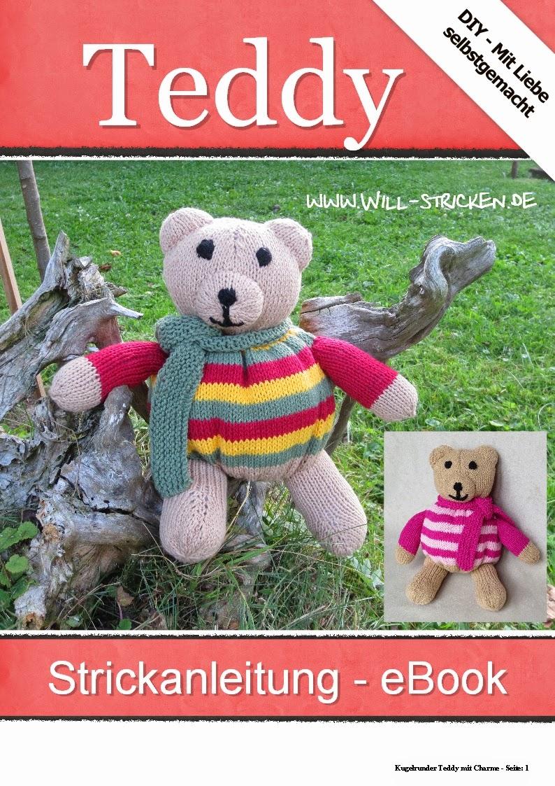 Strickanleitung Teddybär von Ines Kollwitz