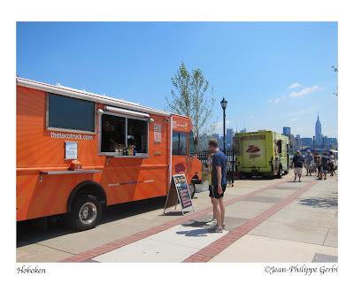 Image of Food Trucks in Hoboken, NJ New Jersey