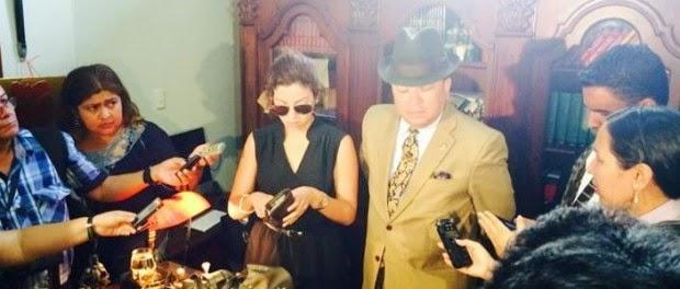 Samantha Grey acusa de femicidio a Geovanny López