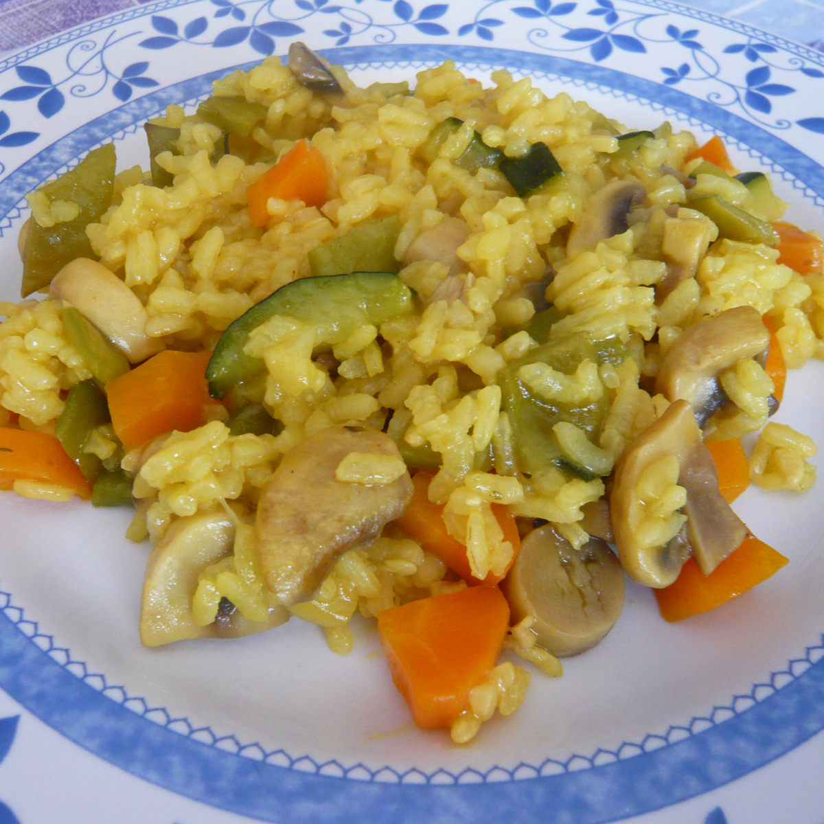 C mocomo arroz con verduras - Arroz con pescado y verduras ...