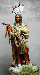 Hidatsa Warrior 1835