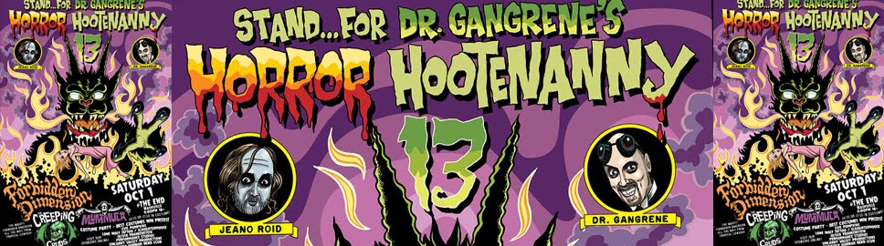 Dr. Gangrene's Horror Hootenanny