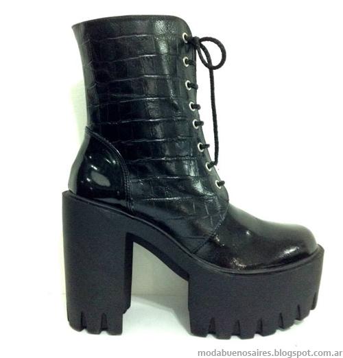 Zapatos y botas invierno 2014 RH+. Moda 2014.
