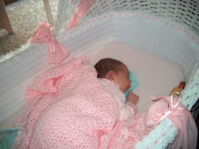 Bassinet Baby Girl