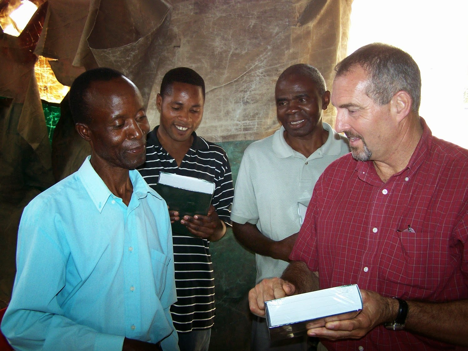 Bibles in Zambia