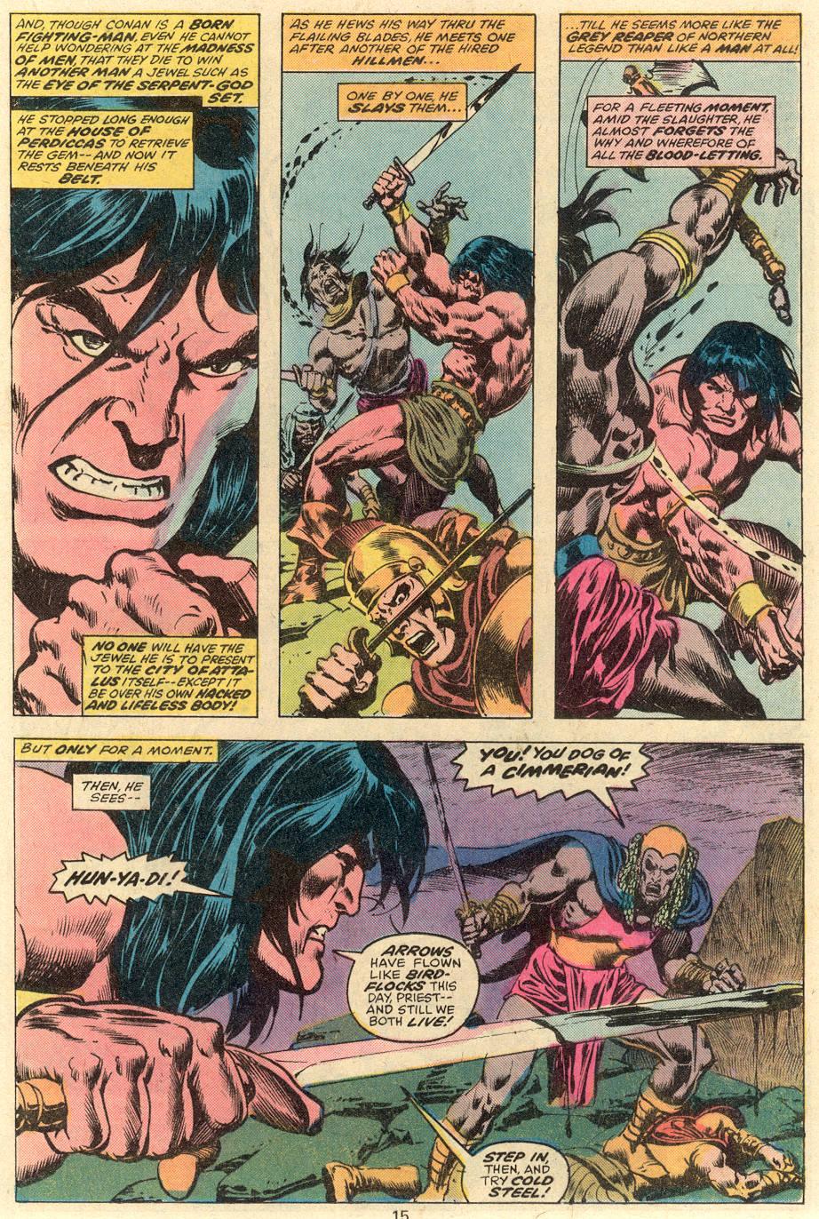 Conan the Barbarian (1970) Issue #81 #93 - English 10