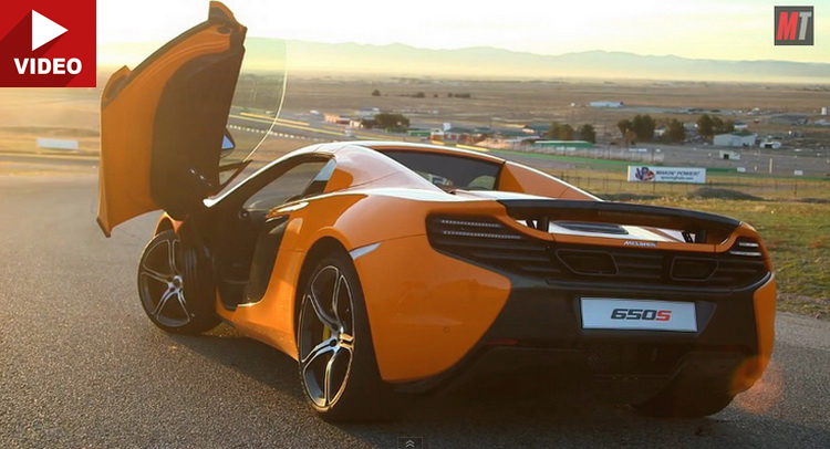 MT Finds Out If McLarenu0027s 650S Spider Is More Than A Facelifted MP4 12C