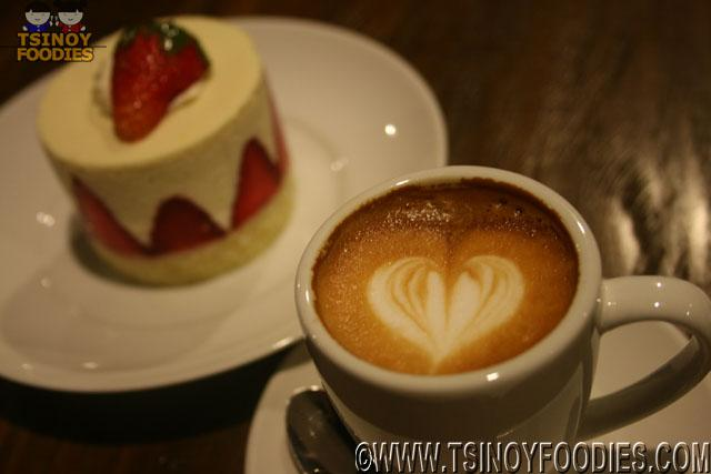 bens cappuccino and strawberry kiss