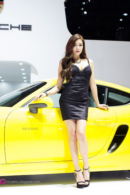 2 Kim Ha Yul - Seoul Motor Show 2013- very cute asian girl - girlcute4u.blogspot.com