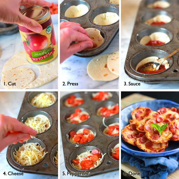 Mini Tortilla Crust Pizzas