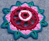 Mandala Flor 3D