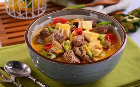 Resep Gulai Nangka Daging