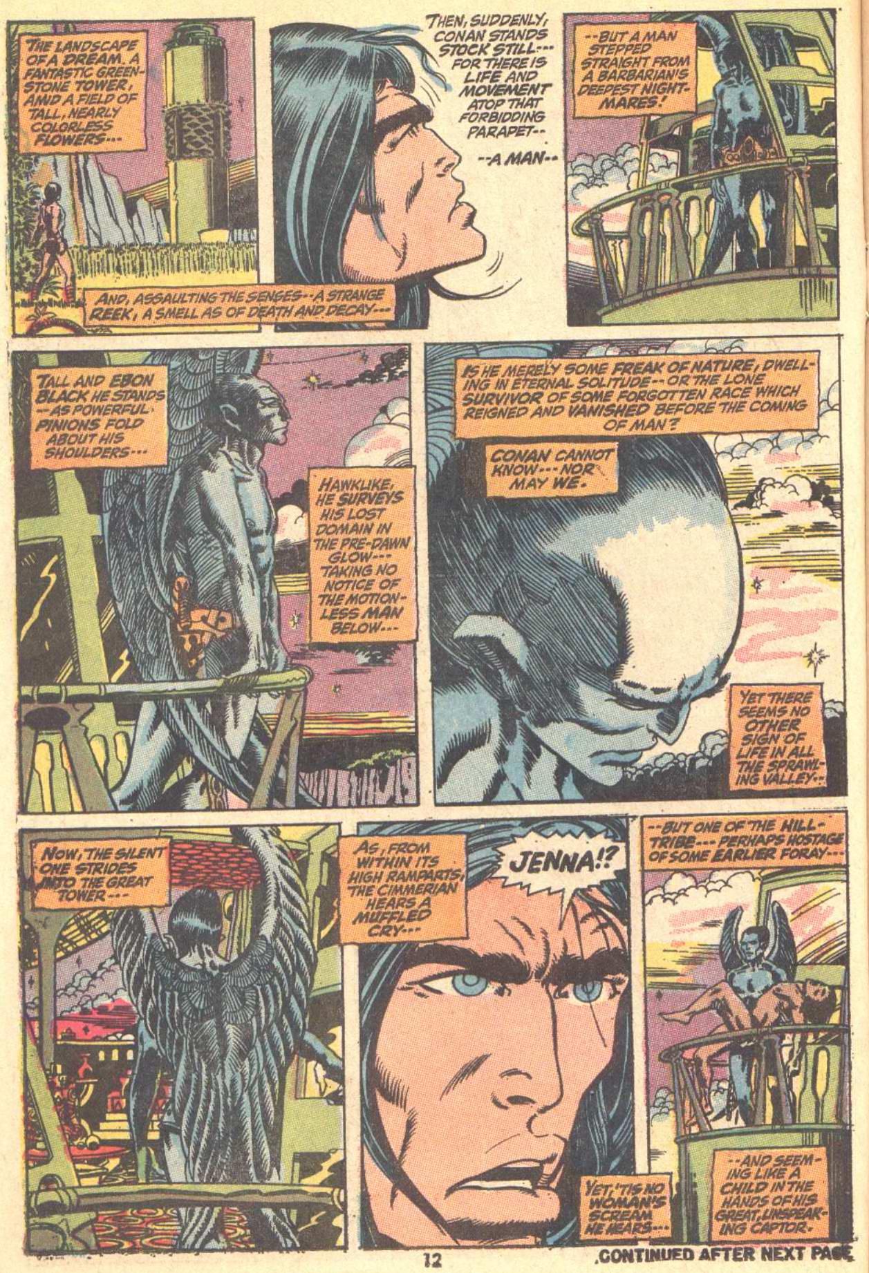 Conan the Barbarian (1970) Issue #9 #21 - English 10