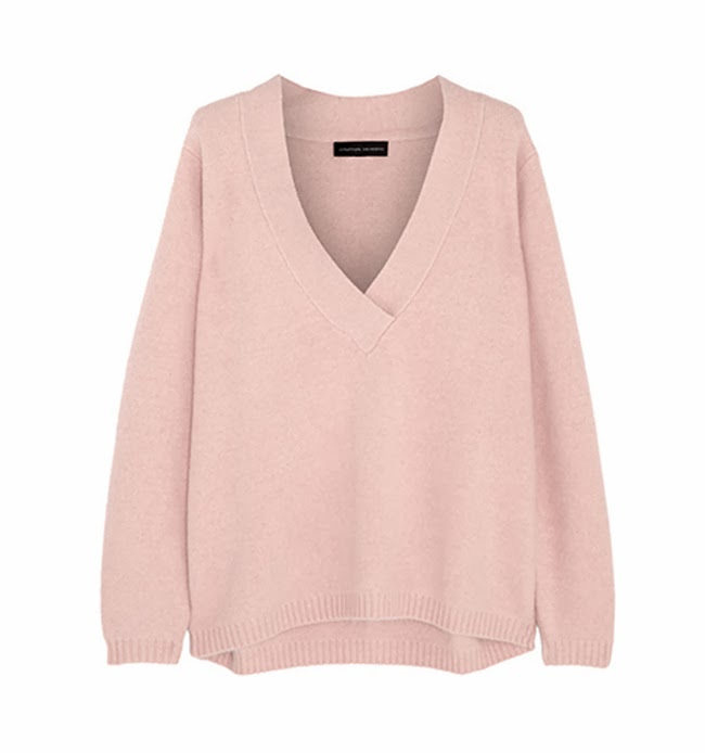 Jonathan Saunders pink sweater