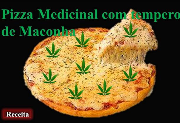 Pizza de Maconha: Mata Larica, Deixa Chapado e ainda é Medicinal