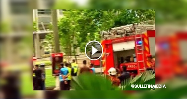 [VIDEO] - [BIKIN KECOH] BOM di KLCC, Unit Pemusnah Bom dipanggil