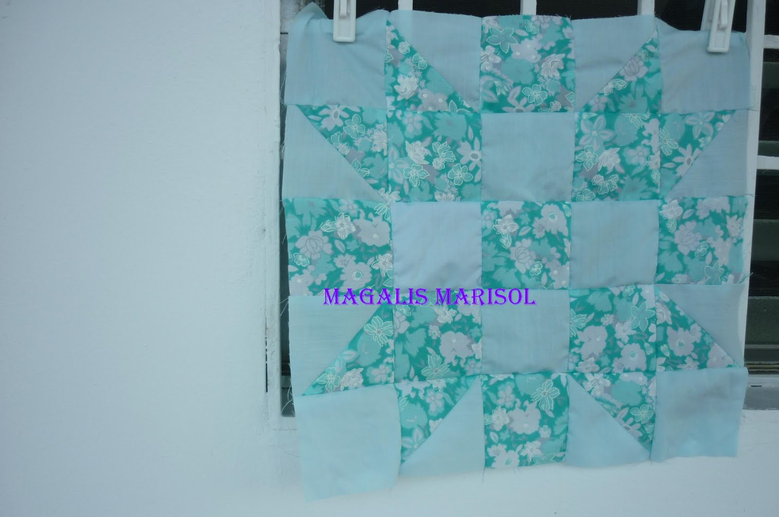 Edredones de patchwork y algo mas mi tejido un nuevo - Proyectos de patchwork ...