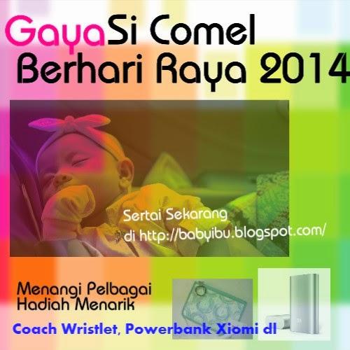 ~ GAYA SI COMEL BERHARI RAYA 2014 ~