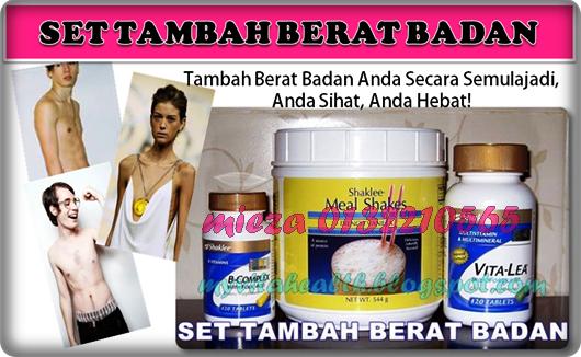 SET TAMBAH BERAT BADAN