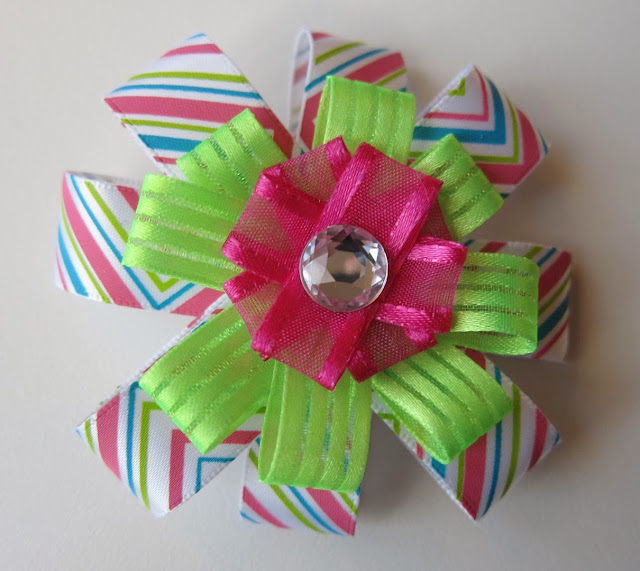 cute homemade hair bow for sale, etsy hair bow