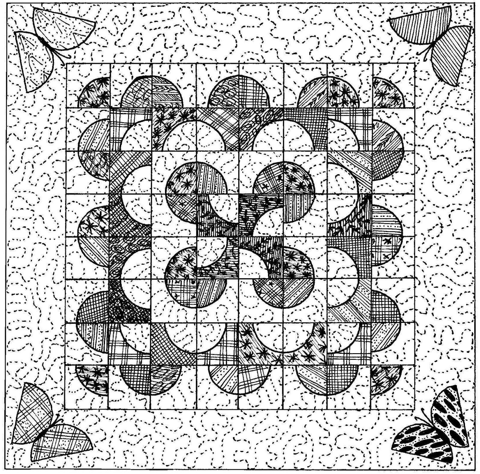 Cool Graph Paper Drawings