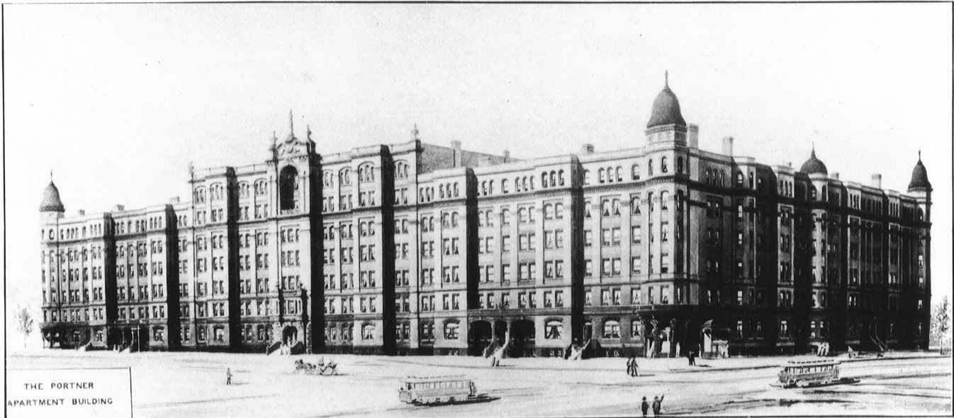 Apartment Building History the house history man: washington's largest apartment building - razed