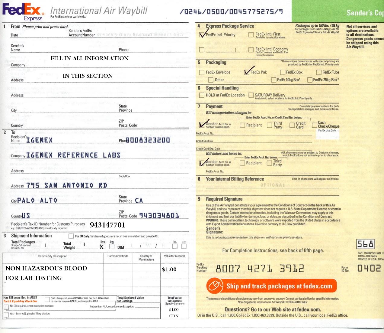 download waybill form