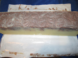 Coffee Butter Soap Log