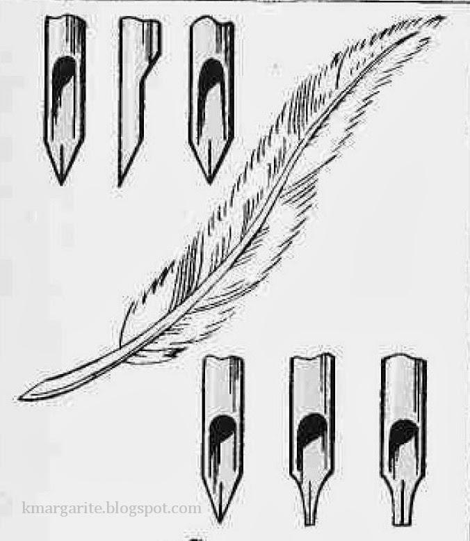 Перо своими руками рисунки 288