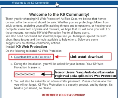 Turn Off K9 Web Protection