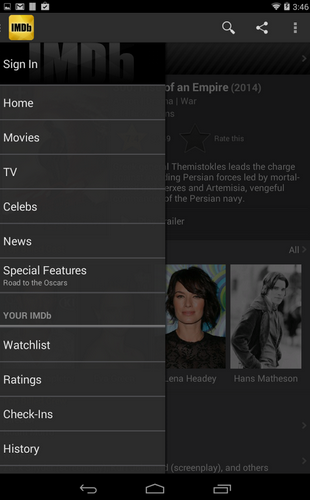 IMDb Movies & TV - Aplikasi TV Di HP Android Terbaik Gratis