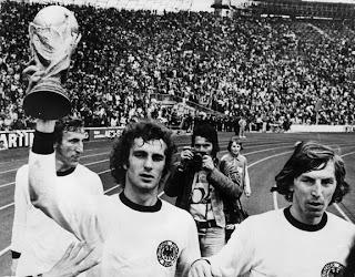Campeona del mundo 1974 Alemania Federal