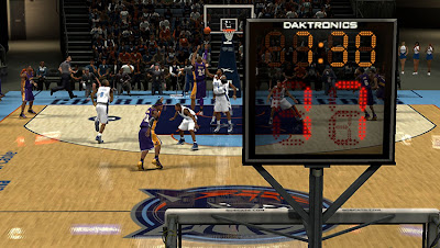 NBA 2K13 Realistic Shotclock Texture NBA2K Mods