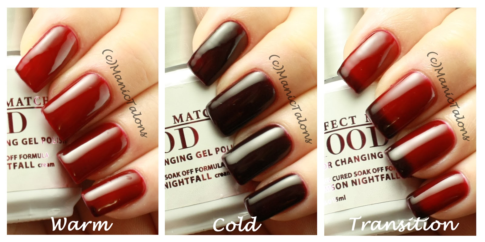 Manic Talons Nail Design: More LeChat Perfect Match Mood Swatches ...