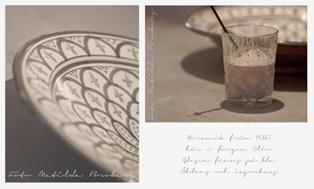 RIF keramik Matilda Broberg ladylost.se orientaliskt mönster glas TineK fotograf foto