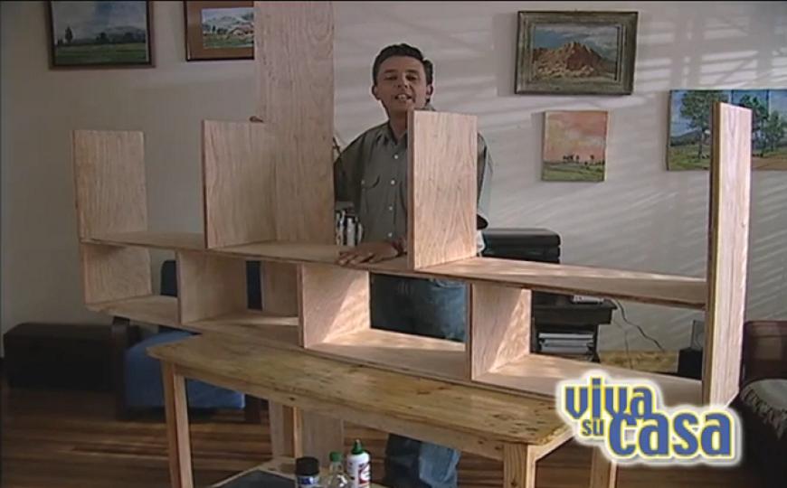 Fabricaci n repisa estante de madera h galo usted mismo for Como armar muebles de mdf