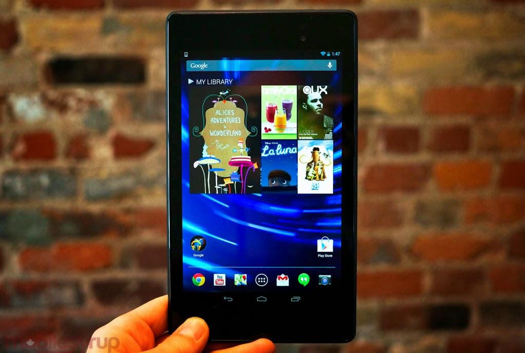 Nexus 7 vs NVIDIA SHIELD